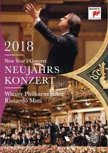 Neujahrskonzert 2018 der Wiener Philharmoniker, DVD
