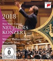 Neujahrskonzert 2018 der Wiener Philharmoniker, Blu-ray Disc
