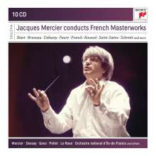 Jacques Mercier conducts French Masterworks, 10 CDs