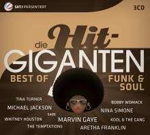 Die Hit-Giganten: Best Of Funk & Soul, 3 CDs