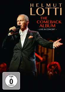 Helmut Lotti: The Comeback Album - Live in Concert, DVD