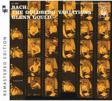 Johann Sebastian Bach (1685-1750): Goldberg-Variationen BWV 988 (Remasterte Version), CD