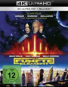 Das fünfte Element (Ultra HD Blu-ray & Blu-ray), 1 Ultra HD Blu-ray und 1 Blu-ray Disc
