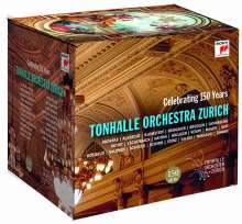 Tonhalle Orchester Zürich - 150th Anniversary Edition, 14 CDs