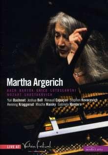 Martha Argerich Live At Verbier Festival 2007, DVD