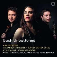 Johann Sebastian Bach (1685-1750): Brandenburgische Konzerte Nr.2,4,5, CD