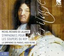 Michel Richard Delalande (1657-1726): Symphonies pour les Soupers du Roy, 4 CDs