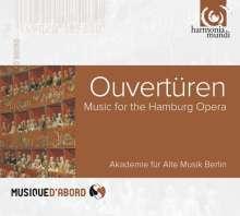 Ouvertüren für die Hamburger Oper, CD