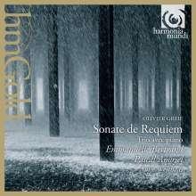Olivier Greif (1950-2000): Sonate de Requiem op.283 für Cello & Klavier, CD