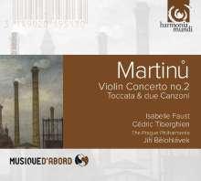 Bohuslav Martinu (1890-1959): Violinkonzert Nr.2, CD