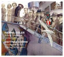 Hanns Eisler (1898-1962): Ernste Gesänge, CD