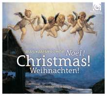 RIAS Kammerchor - Noel! Christmas! Weihnachten!, CD