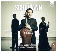 Robert Schumann (1810-1856): Sämtliche Konzerte & Klaviertrios Vol.3, 1 CD und 1 DVD