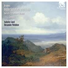 Johannes Brahms (1833-1897): Sonaten für Violine & Klavier Nr.2 & 3 (opp.100 & 108), CD