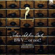Johann Sebastian Bach, BWV... or not?, CD