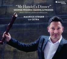 Maurice Steger - Mr. Handel's Dinner (Concertos, Sonatas & Chaconnes), CD