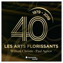 William Christie & Les Arts Florissants - 40th Anniversary, 3 CDs