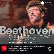Ludwig van Beethoven (1770-1827): Symphonie Nr. 9, 2 CDs