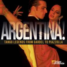 Argentina!: Tango Legends from Gardel To Piazzolla, 2 CDs