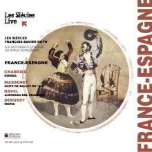 Les Siecles Live - France-Espagne, CD