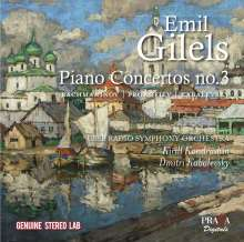 Emil Gilels Plays Russian Concertos, CD