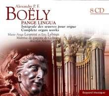 Alexandre-Pierre-François Boely (1785-1858): Sämtliche Orgelwerke, 8 CDs