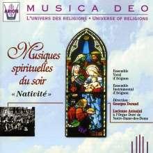 "Musiques spirituelles du soir ""Nativite"", CD"