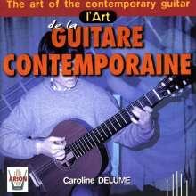 Caroline Delume - L'Art de la Guitare Contemporaine, CD