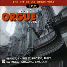 The Art of the Organ Vol.1, CD