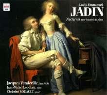 Louis Emmanuel Jadin (1768-1853): Nocturnes Nr.1-3 für Oboe & Klavier, CD