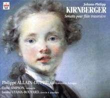 Johann Philipp Kirnberger (1721-1783): Sonaten für Flöte & Bc C-Dur,F-Dur,G-Dur,G-Dur,g-moll,B-Dur, CD