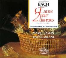 Johann Sebastian Bach (1685-1750): Orchestersuiten Nr.1 & 2 für 2 Cembali, CD