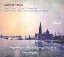 Vincent d'Indy (1851-1931): Symphonie in a-moll o.op., CD