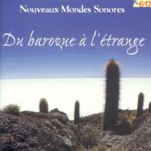 """K617-Sampler """"Du Baroque a l'Etrange"""", CD"""