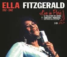 Ella Fitzgerald (1917-1996): Live In Paris, 3 CDs