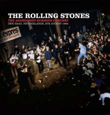 """The Rolling Stones: The Abandoned Kurhaus Concert Den Haag, Netherlands, 8th August 1964 (Limited Edition) (Red Vinyl), 1 Single 10"""" und 1 DVD"""