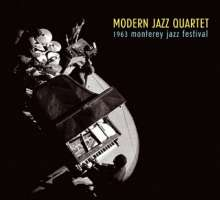 The Modern Jazz Quartet: 1963 Monterey Jazz Festival, CD