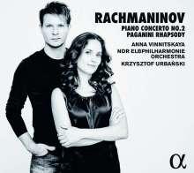 Sergej Rachmaninoff (1873-1943): Klavierkonzert Nr.2, CD