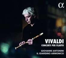 Antonio Vivaldi (1678-1741): Flötenkonzerte RV 433,441-445, CD