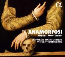 Le Poeme Harmonique - Anamorfosi, CD