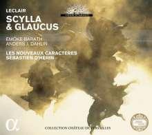 Jean Marie Leclair (1697-1764): Scylla & Glaucus, 3 CDs