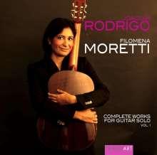 Joaquin Rodrigo (1901-1999): Sämtliche Werke für Gitarre solo Vol.1, CD