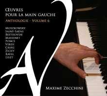 """Klavierwerke für die linke Hand """"Oeuvres Pour la Main Gauche"""" - Anthologie Vol.6, CD"""