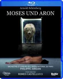 Arnold Schönberg (1874-1951): Moses & Aron, Blu-ray Disc
