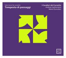 Tempesta di Passaggi - Solo Music for Cornetto, CD