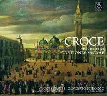 Giovanni Croce (1557-1609): Motetti a otto voci Libro I (Venedig 1594), CD