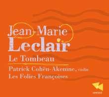 Jean Marie Leclair (1697-1764): Violinkonzert op.10 Nr.6, CD