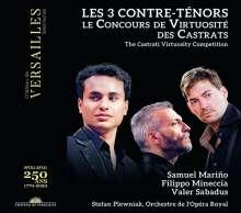 Samuel Marino, Filippo Mineccia & Valer Sabadus - Les 3 Contre-Tenors, 1 CD und 1 DVD