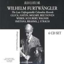 Wilhelm Furtwängler - Late Unforgettable Columbia Records, 6 CDs