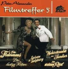 Peter Alexander (1926-2011): Filmmusik: Filmtreffer 5, CD